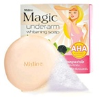 Mistine : Magic Underarm Whitening Soap