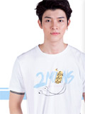 2Moons The Series : White T-Shirt - Size L