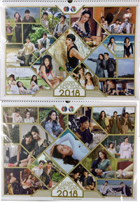 Wall Calendar 2018 : Ch.3 - Sawasdee Pee Mai (Version A & B)