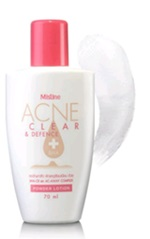 Mistine : Acne Clear and Defence BHA+ Powder Lotion