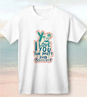 Y I Love You Fan Party 2019 : White T-Shirt - Size S