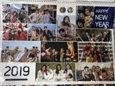 Wall Calendar 2019 : Ch.3 - Sawasdee Pee Mai