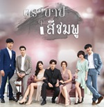 Thai TV series : Tra Barb See Chompoo [ DVD ]