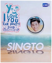 Y I Love You Fan Party : Badge - Singto Prachaya