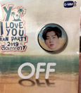 Y I Love You Fan Party : Badge - Off Jumpol