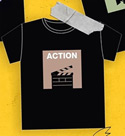 Theory Of Love : Action T-Shirt - Size S