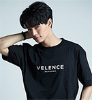 Velence : Tshirt - Black Size L