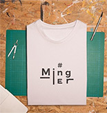 Saint Suppapong : #MingEr T-Shirt - Size 2XL