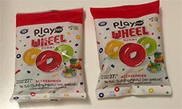 Playmore : Wheel Gummy (Pack of 2)
