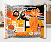 MAMA OK : Stir Fried Salted Egg Flavour (Pack of 4)
