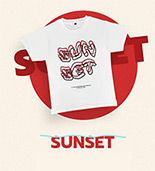 I Told Sunset About You The Series : Sunset T-shirt - Size XS