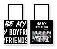 Boyfriends : Black Tote Bag