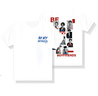 Boyfriends : Collage T-Shirt - White Size M