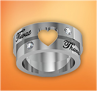 TharnType The Series : Couple Rings