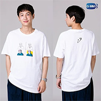 Gun : Portrait Art Series : T-shirt - Size M