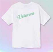 Velence : Tshirt - Mint Color Logo Size XL