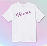 Velence : Tshirt - Lavender Color Logo Size M