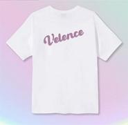Velence : Tshirt - Lavender Color Logo Size L