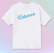 Velence : Tshirt - Sky Color Logo Size XS