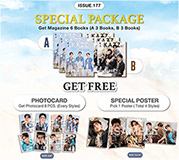 KAZZ : Vol. 177 - Tay & Off & Arm (SPECIAL PACKAGE : Poster - Tay Tawan)