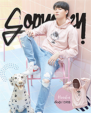 Sobyohey : Hoodie - Pink Size S