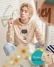 Sobyohey : Hoodie - Cream Size L