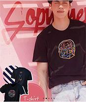 Sobyohey : Tshirt - Black Size S