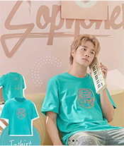 Sobyohey : Tshirt - Mint Green Size XL
