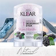 DeoKlear : Mineral Deodorant Stick - Skin Health