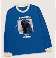 I Promised You the Moon : Long Sleeve T-Shirt - Size L