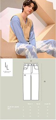 Leela : Blue Sky Jeans - Size M