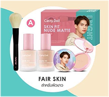 Cathy Doll : Skin Fit Nude Matte Series - Bright (Set A)