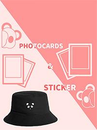 Winnies Bucket Hat : Black