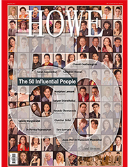 HOWE Magazine : Vol.102 - The 50 Influential People