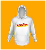 Saint Super Speed : Hoodie - White Size XXL