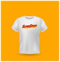 Saint Super Speed : T-shirt - White Size S