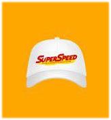 Saint Super Speed : Cap - White