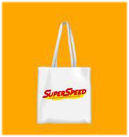Saint Super Speed : Tote Bag