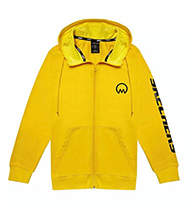 Mew Suppasit : The Moon is Beautiful Hoodie Jacket (Yellow) - Size S