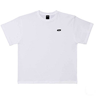 Astro : Small Logo Oversized Tshirt - White Size XS