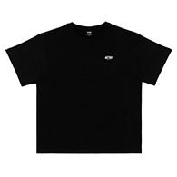 Astro : Small Logo Oversized Tshirt - Black Size S