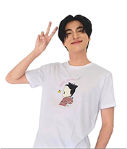 Cocoon T-shirt : White - Size L