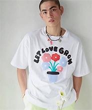 G_gente : Let Love Grow T-shirt