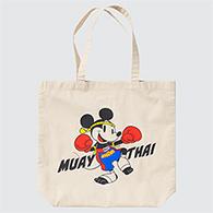 Uniqlo Eco Bag : Mickey Mouse in Thailand - Muay Thai