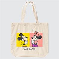 Uniqlo Eco Bag : Mickey Mouse in Thailand - Sawasdee