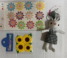 Sunflower Bunny DIY Set : Green