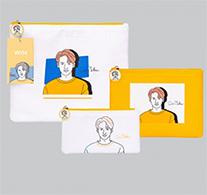 Win : Portrait Art Series - Clutch Bag