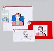 Singto : Portrait Art Series - Clutch Bag