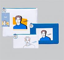 Tay : Portrait Art Series - Clutch Bag