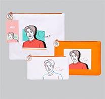 Mix : Portrait Art Series - Clutch Bag